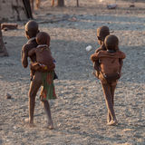 Enfants de Himba Photos libres de droits