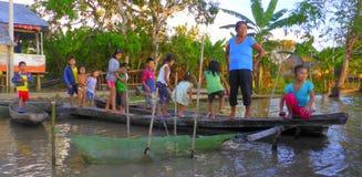 Enfants de l'Amazone Photos stock