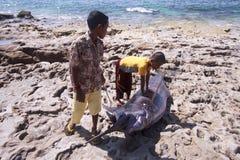 Enfants de la mer Images stock