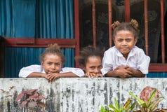 Enfants de la Papouasie Image libre de droits