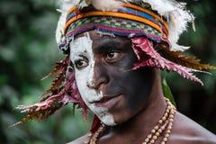 Enfants de la Papouasie-Nouvelle-Guinée Photos libres de droits