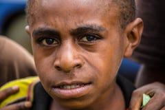 Enfants de la Papouasie-Nouvelle-Guinée Photographie stock