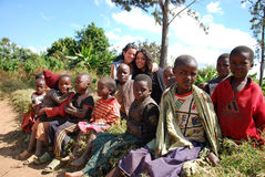Enfants de la Tanzanie Afrique 06 Image libre de droits