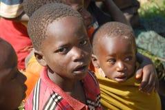 Enfants de la Tanzanie Afrique 66 Image libre de droits
