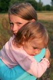 Enfants de mêmes parents Image stock