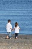 Enfants de mêmes parents Photographie stock