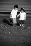 Enfants de mêmes parents Photos stock