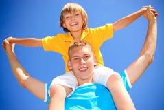 Enfants de mêmes parents ensemble Photographie stock libre de droits