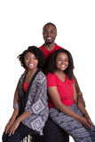 3 enfants de mêmes parents ou amis Photographie stock libre de droits