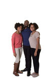 3 enfants de mêmes parents ou amis Images stock