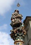 Enfants de mangeur de Bern.Fontan Image stock