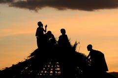 Enfants de masai Images libres de droits
