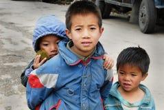 Enfants de montagne de l'Inde Images libres de droits