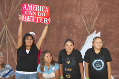 Enfants de Natif américain Photos libres de droits