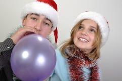 Enfants de Noël Image libre de droits