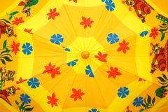 Enfants de parapluie Photo stock