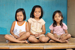 Enfants de pauvreté Image libre de droits