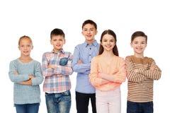Enfants de sourire heureux Photographie stock
