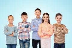 Enfants de sourire heureux Images stock
