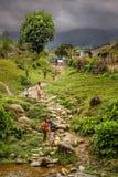 Enfants de village Images stock