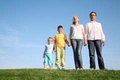 Enfants de wih de famille Photos stock