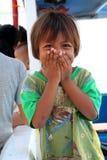 Enfants des pêcheurs image stock
