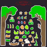 enfants des stikers 0515_2 Photos libres de droits