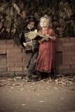 Enfants drôles Image libre de droits