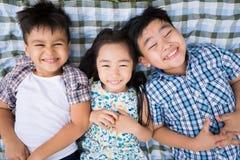 Enfants drôles mignons Photos libres de droits