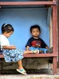 enfants du Bornéo Photographie stock libre de droits