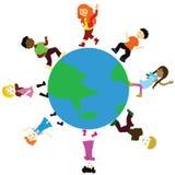 Enfants du monde Photos libres de droits