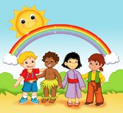 Enfants du monde Images stock