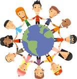 Enfants du monde illustration de vecteur
