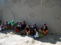 Enfants en Afghanistan Photographie stock
