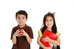 Enfants en bas âge heureux Photos stock