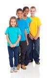 Enfants en bas âge multiraciaux Images stock