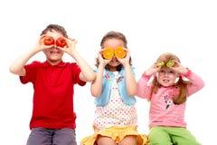 Enfants en bonne santé Photographie stock