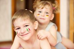 Enfants européens Images stock
