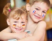 Enfants européens Photo libre de droits