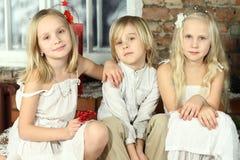 Enfants - gosses de sourire Photos libres de droits