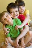 Enfants heureux Images libres de droits