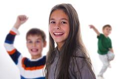 Enfants heureux riants Photos libres de droits
