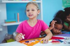 Enfants heureux toutes les photos de dessin Image libre de droits