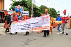 Enfants, hommes et femmes de Sulawesi Selatan Photo stock