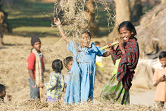 Enfants indiens Photographie stock libre de droits