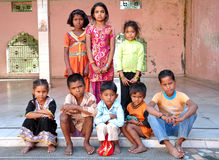 Enfants indiens Photos stock