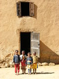 Enfants indigènes malgaches Photographie stock libre de droits