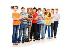 Enfants intelligents Image libre de droits