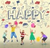 Enfants Joy Happy Child Concept d'enfants Images libres de droits