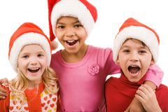 Enfants joyeux Images stock